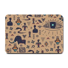 Vintage Tribal Seamless Pattern With Ethnic Motifs Small Doormat