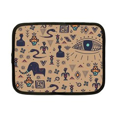 Vintage Tribal Seamless Pattern With Ethnic Motifs Netbook Case (Small)