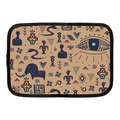 Vintage Tribal Seamless Pattern With Ethnic Motifs Netbook Case (Medium)