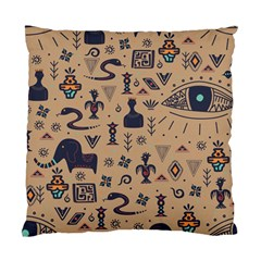 Vintage Tribal Seamless Pattern With Ethnic Motifs Standard Cushion Case (One Side)