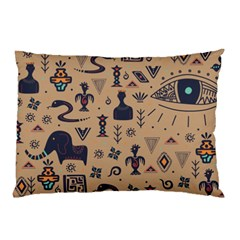 Vintage Tribal Seamless Pattern With Ethnic Motifs Pillow Case