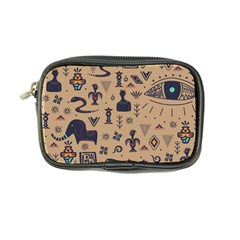 Vintage Tribal Seamless Pattern With Ethnic Motifs Coin Purse