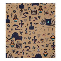 Vintage Tribal Seamless Pattern With Ethnic Motifs Shower Curtain 66  x 72  (Large)