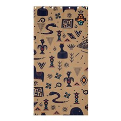 Vintage Tribal Seamless Pattern With Ethnic Motifs Shower Curtain 36  x 72  (Stall)