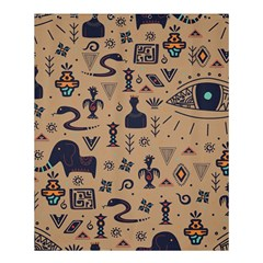 Vintage Tribal Seamless Pattern With Ethnic Motifs Shower Curtain 60  x 72  (Medium)