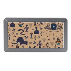 Vintage Tribal Seamless Pattern With Ethnic Motifs Memory Card Reader (Mini)