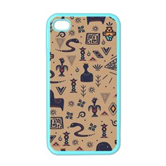 Vintage Tribal Seamless Pattern With Ethnic Motifs iPhone 4 Case (Color)