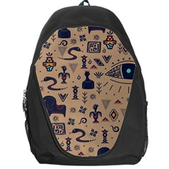 Vintage Tribal Seamless Pattern With Ethnic Motifs Backpack Bag