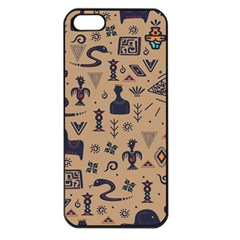 Vintage Tribal Seamless Pattern With Ethnic Motifs iPhone 5 Seamless Case (Black)
