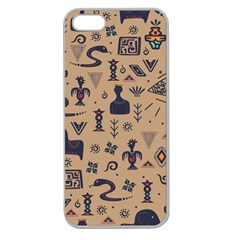 Vintage Tribal Seamless Pattern With Ethnic Motifs Apple Seamless iPhone 5 Case (Clear)