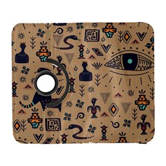 Vintage Tribal Seamless Pattern With Ethnic Motifs Samsung Galaxy S  III Flip 360 Case