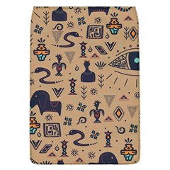 Vintage Tribal Seamless Pattern With Ethnic Motifs Removable Flap Cover (L)