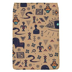 Vintage Tribal Seamless Pattern With Ethnic Motifs Removable Flap Cover (S)