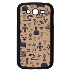 Vintage Tribal Seamless Pattern With Ethnic Motifs Samsung Galaxy Grand DUOS I9082 Case (Black)