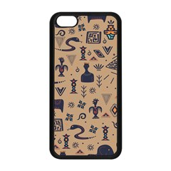 Vintage Tribal Seamless Pattern With Ethnic Motifs iPhone 5C Seamless Case (Black)