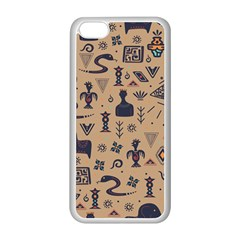 Vintage Tribal Seamless Pattern With Ethnic Motifs iPhone 5C Seamless Case (White)