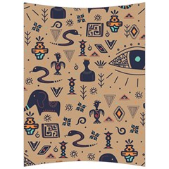Vintage Tribal Seamless Pattern With Ethnic Motifs Back Support Cushion