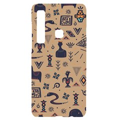Vintage Tribal Seamless Pattern With Ethnic Motifs Samsung A9 Black UV Print Case