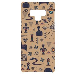 Vintage Tribal Seamless Pattern With Ethnic Motifs Samsung Note 9 Black UV Print Case