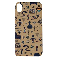 Vintage Tribal Seamless Pattern With Ethnic Motifs Apple iPhone XR TPU UV Case