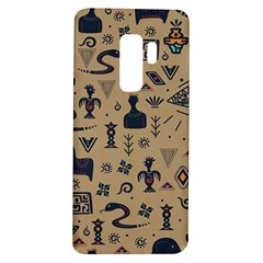 Vintage Tribal Seamless Pattern With Ethnic Motifs Samsung Galaxy S9 Plus TPU UV Case