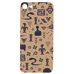 Vintage Tribal Seamless Pattern With Ethnic Motifs iPhone 7/8 Soft Bumper UV Case