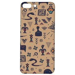 Vintage Tribal Seamless Pattern With Ethnic Motifs iPhone 7/8 Plus Soft Bumper UV Case