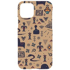 Vintage Tribal Seamless Pattern With Ethnic Motifs iPhone 11 Pro Black UV Print Case
