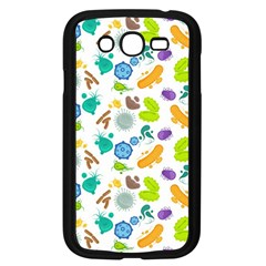 Bacteria Virus Seamless Pattern Samsung Galaxy Grand Duos I9082 Case (black) by Vaneshart