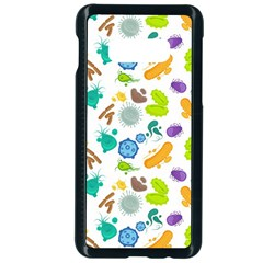 Bacteria Virus Seamless Pattern Samsung Galaxy S10e Seamless Case (black) by Vaneshart