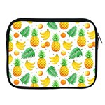 Tropical Fruits Pattern Apple iPad 2/3/4 Zipper Cases Front