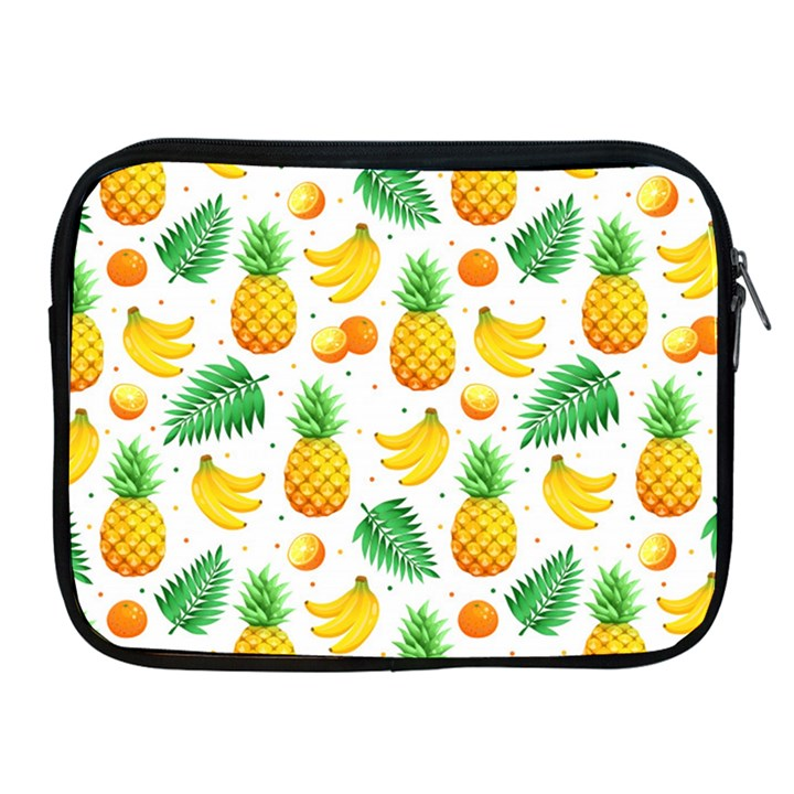 Tropical Fruits Pattern Apple iPad 2/3/4 Zipper Cases