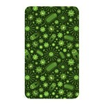 Seamless Pattern With Viruses Memory Card Reader (Rectangular) Front