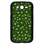 Seamless Pattern With Viruses Samsung Galaxy Grand DUOS I9082 Case (Black) Front
