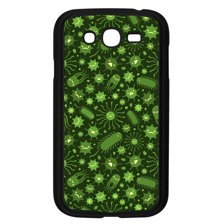 Seamless Pattern With Viruses Samsung Galaxy Grand DUOS I9082 Case (Black)