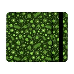 Seamless Pattern With Viruses Samsung Galaxy Tab Pro 8 4  Flip Case by Vaneshart