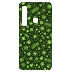 Seamless Pattern With Viruses Samsung A9 Black Uv Print Case by Vaneshart