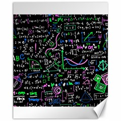 Math Linear Mathematics Education Circle Background Canvas 11  X 14