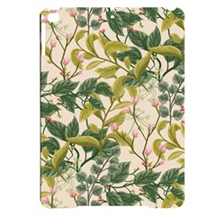 Flower Leaves Background Apple Ipad Pro 9 7   Black Uv Print Case
