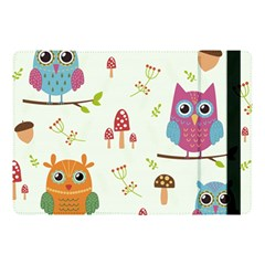 Forest Seamless Pattern With Cute Owls Apple Ipad Pro 10 5   Flip Case by Vaneshart