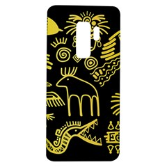 Golden Indian Traditional Signs Symbols Samsung Galaxy S9 Plus Tpu Uv Case by Vaneshart