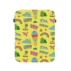 Travel Pattern Apple Ipad 2/3/4 Protective Soft Cases