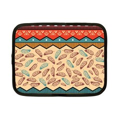 Ethnic Tribal Pattern Background Netbook Case (small)