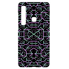 Lines And Dots Motif Geometric Seamless Pattern Samsung A9 Black Uv Print Case
