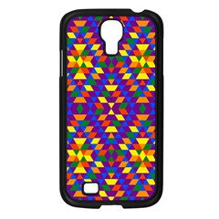 Gay Pride Geometric Diamond Pattern Samsung Galaxy S4 I9500/ I9505 Case (black) by VernenInkPride