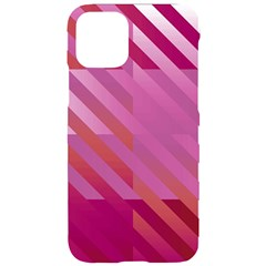 Lesbian Pride Diagonal Stripes Colored Checkerboard Pattern Iphone 11 Pro Black Uv Print Case