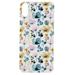 Watercolor Floral Seamless Pattern Apple Iphone Xs Tpu Uv Case by TastefulDesigns