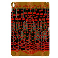 Summer  Flowers In A Floral Jungle Ornate Apple Ipad Pro 10 5   Black Uv Print Case by pepitasart