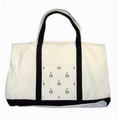 Love Symbol Drawing Two Tone Tote Bag