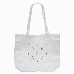 Love Symbol Drawing Tote Bag (white)